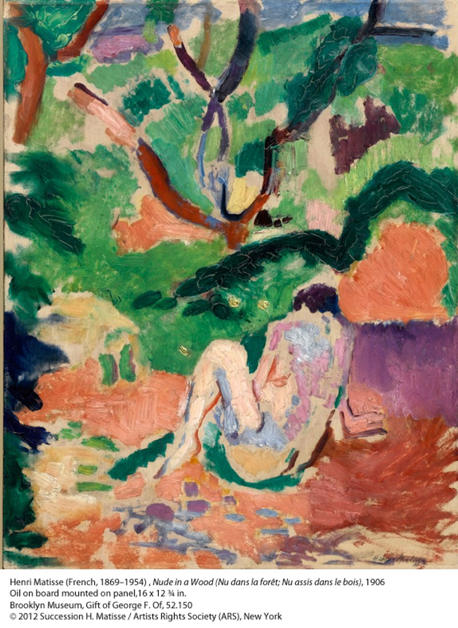 Matisse, Nude in a Wood