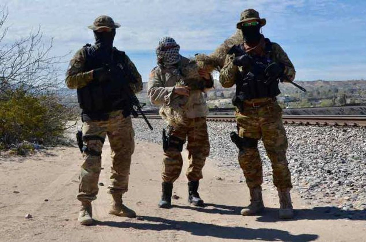 Armed border militia member accused of detaining migrants arrested in New Mexico