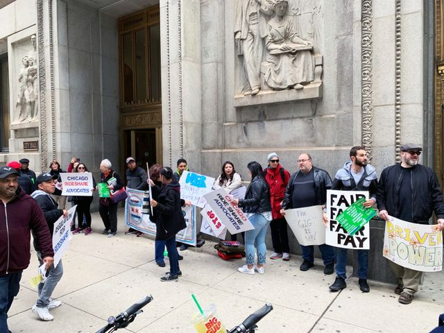 Uber and Lyft drivers in Chicago, New York and California speak out