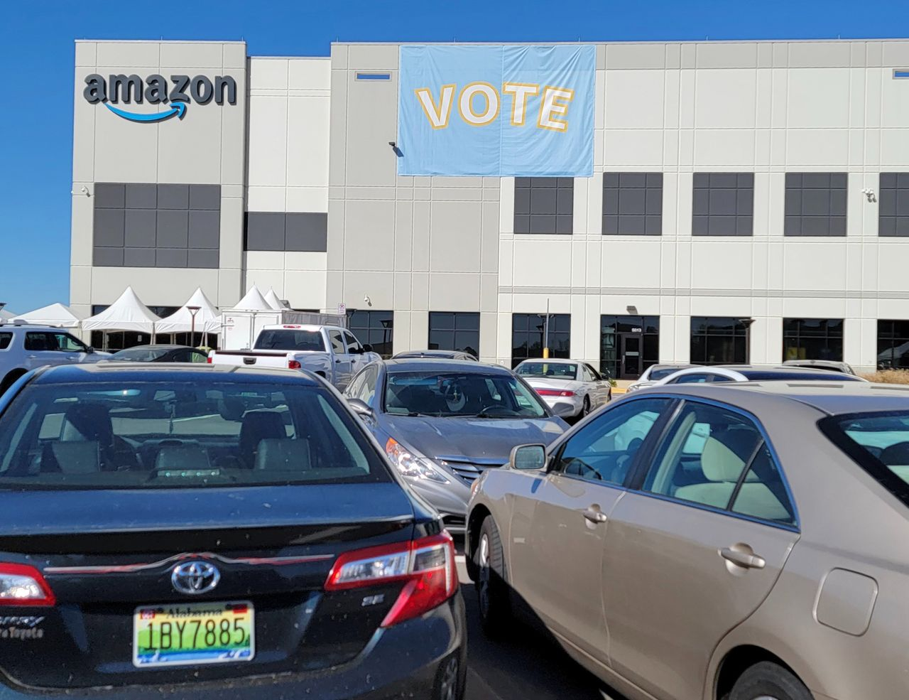 Amazon workers, residents speak out as union vote by Amazon workers concludes