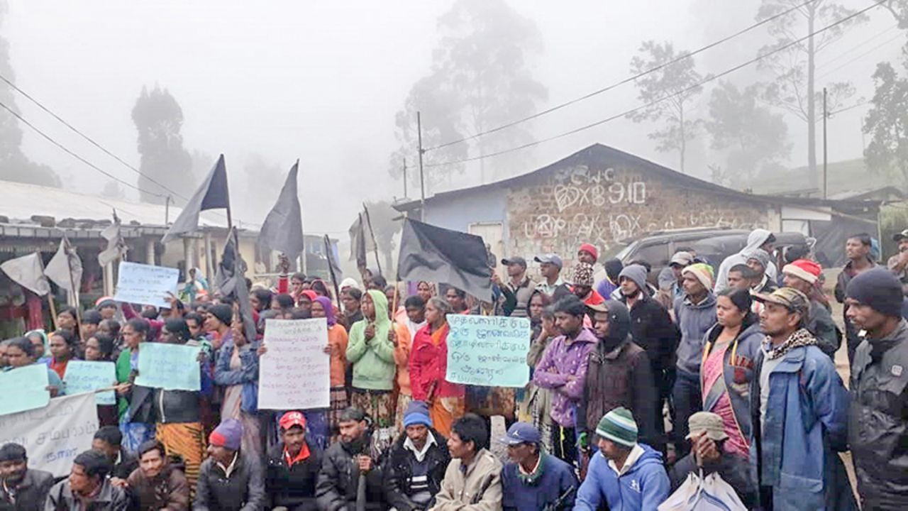Company-police witch hunt continues against Sri Lankan plantation workers