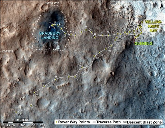One year of the Mars rover Curiosity - World Socialist Web ...