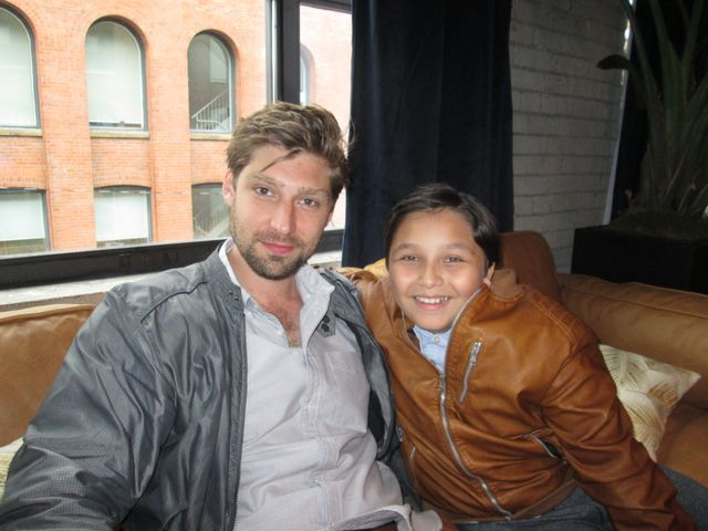 """An interview with director Daniel Sawka and actors from Icebox: """"As"""