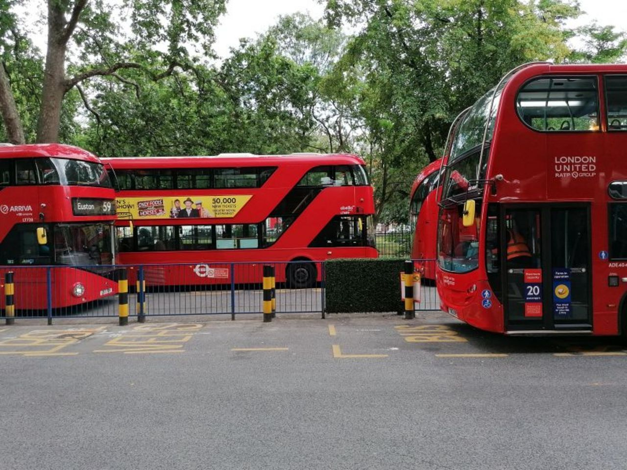 Unite calls off bus drivers' strike action at London Sovereign and Quality Line