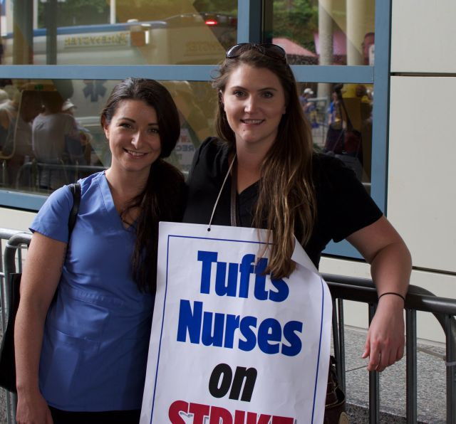 Nurses strike Tufts Medical Center in Boston - World