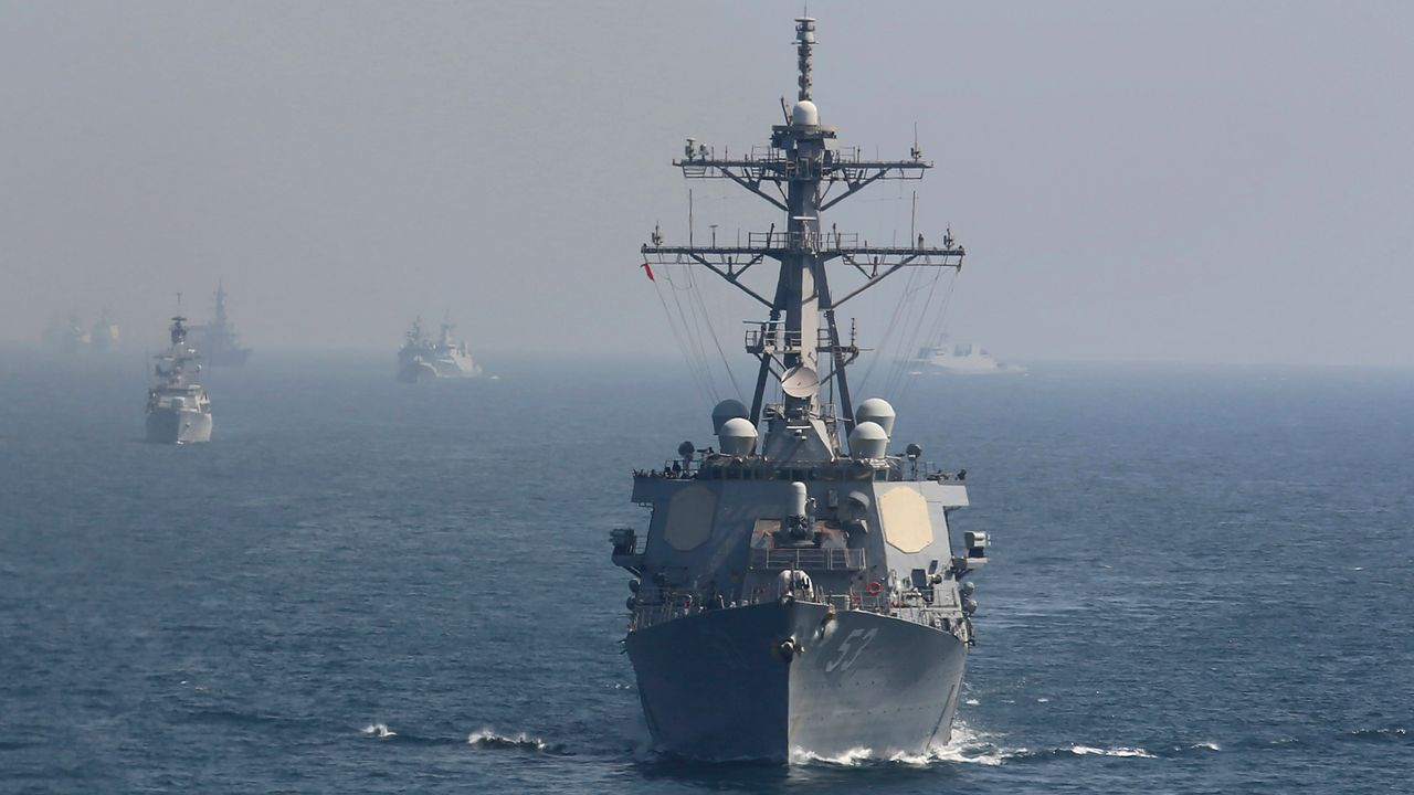 "US sends two warships into the Black Sea as Russia warns of ""full-scale hostilities"" with NATO-backed Ukraine"