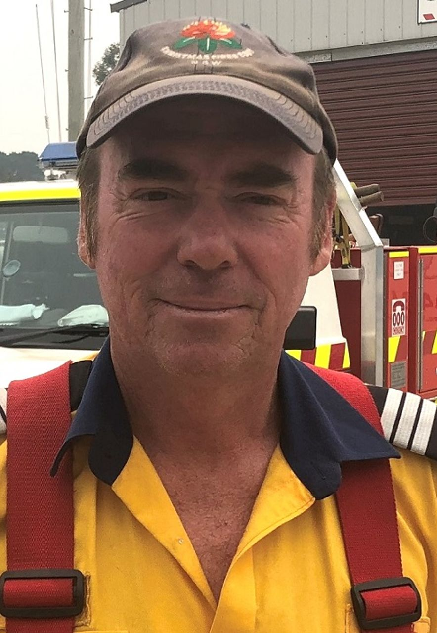 Balmoral Fire Captain Brendan O'Connor