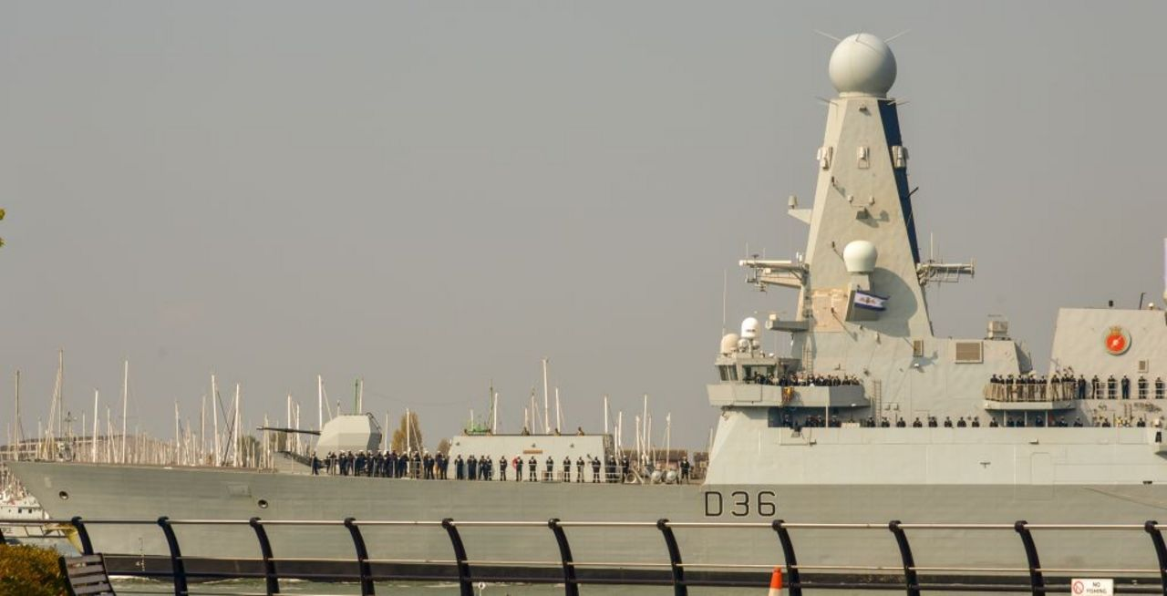 Russian forces fire warning shots at UK destroyer HMS Defender over territorial encroachment in Black Sea