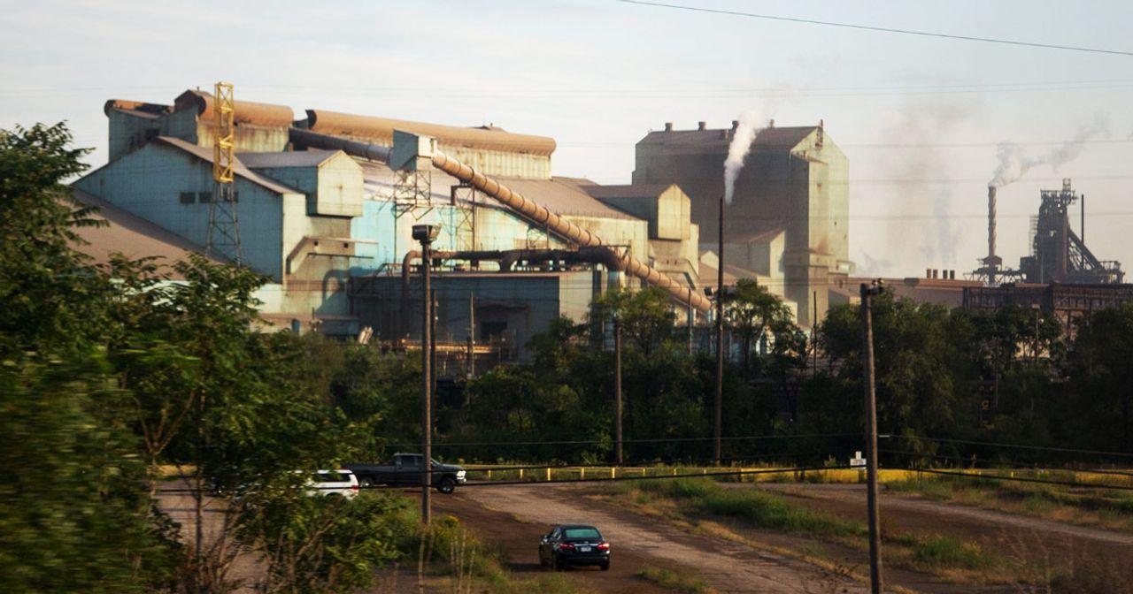 As Trump ramps up trade war, US Steel to idle three blast