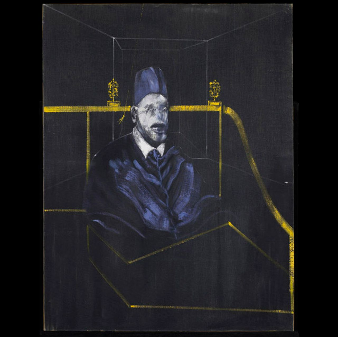 Francis Bacon, Study for Portrait VI (1953) © Estate of Francis Bacon / SODRAC (2013)