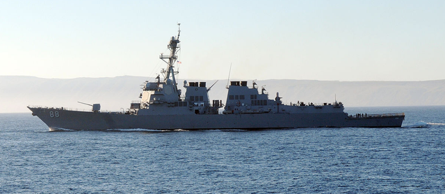 US warships provocatively challenge China's claims in South China