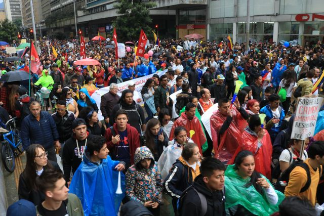 Image result for COLOMBIA PROTESTS  PROMPTS CURFEW, BORDER CLOSURES