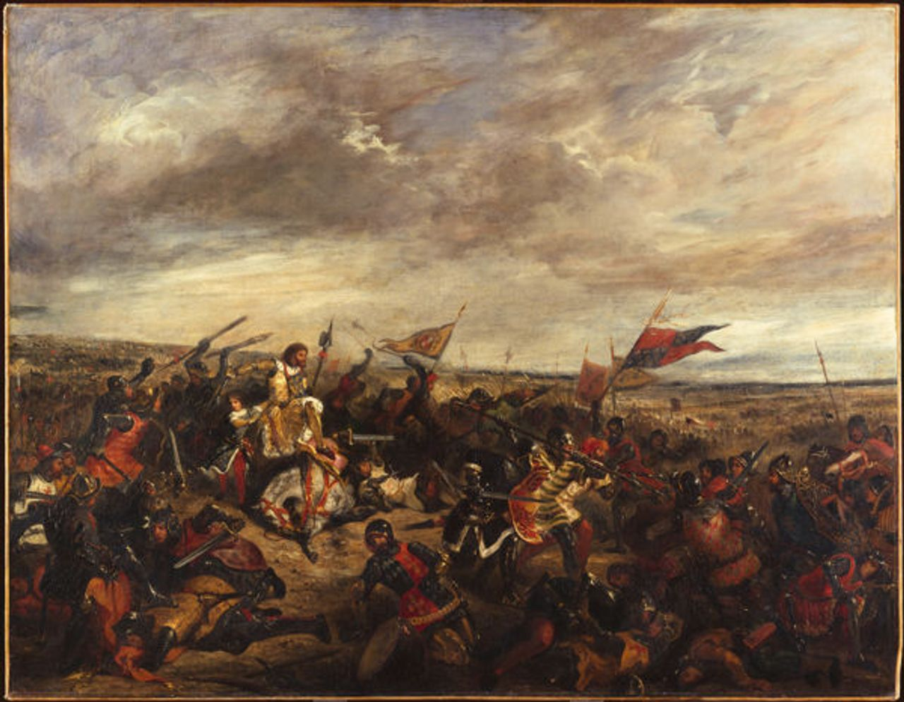 The Battle of Poitiers, 1830