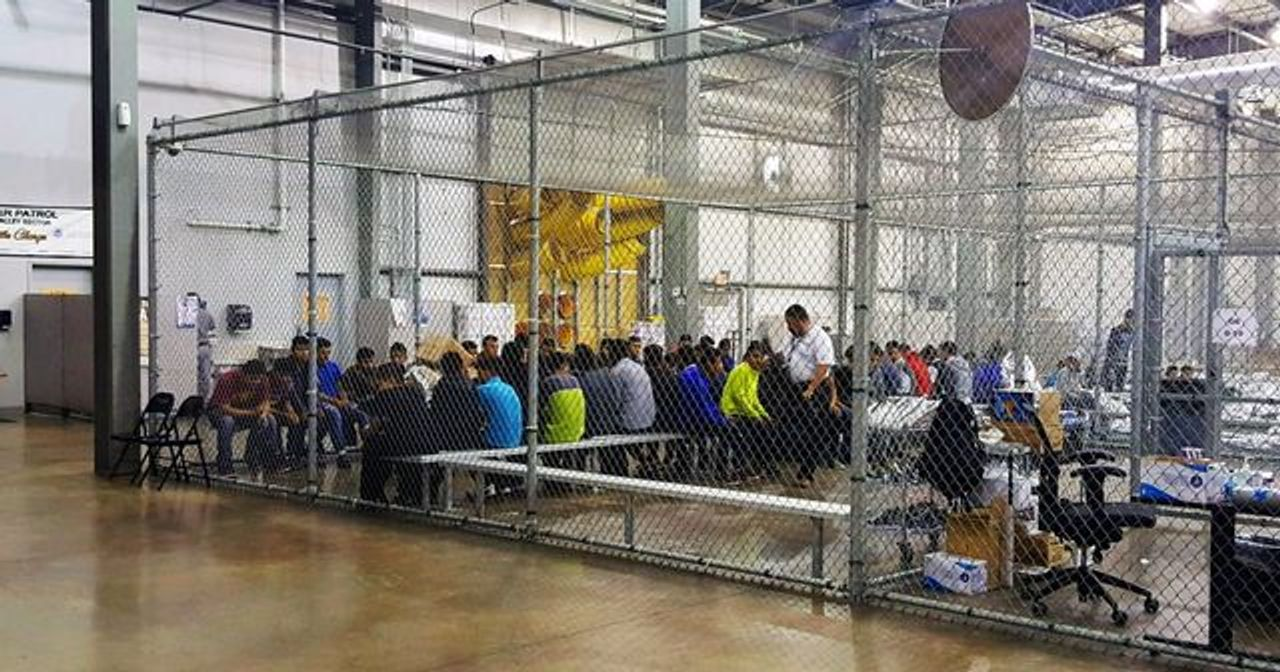 US immigration jail in Texas [credit: CBP, WikiMedia]