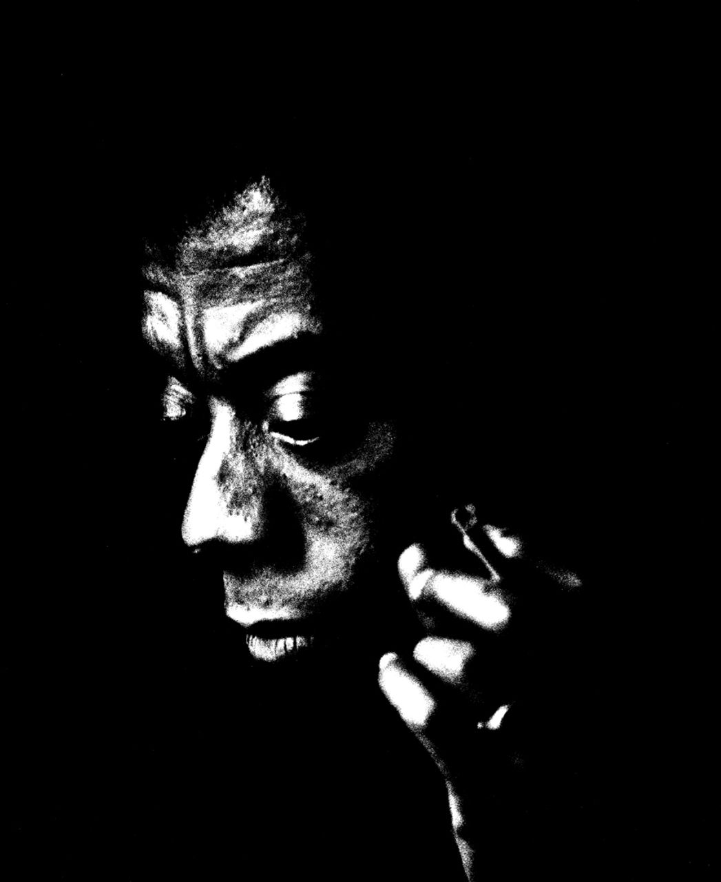 Maria Austria, The American writer James Baldwin, Amsterdam, 1965. Maria Austria Instituut, Amsterdam