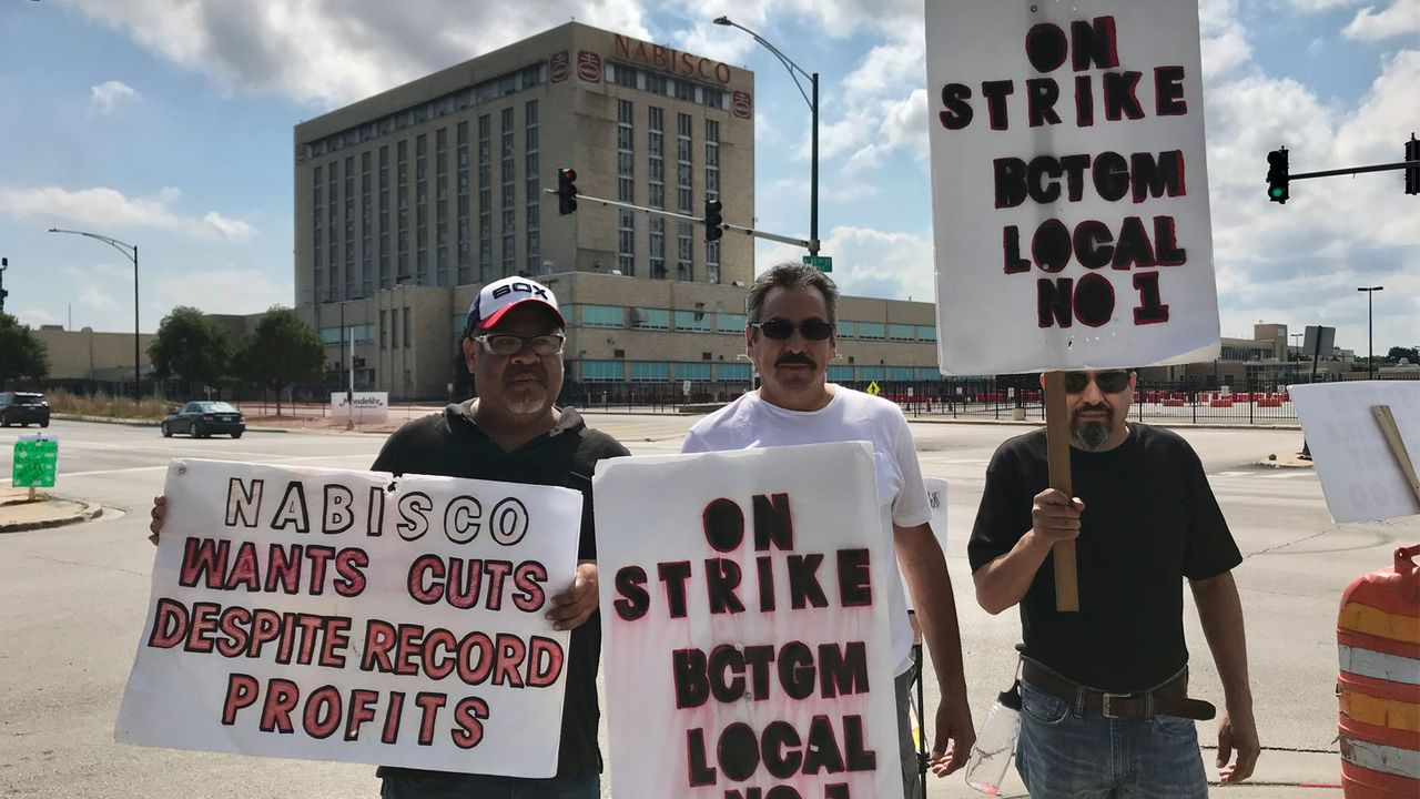Nabisco strike across four states continues with wide support - World  Socialist Web Site