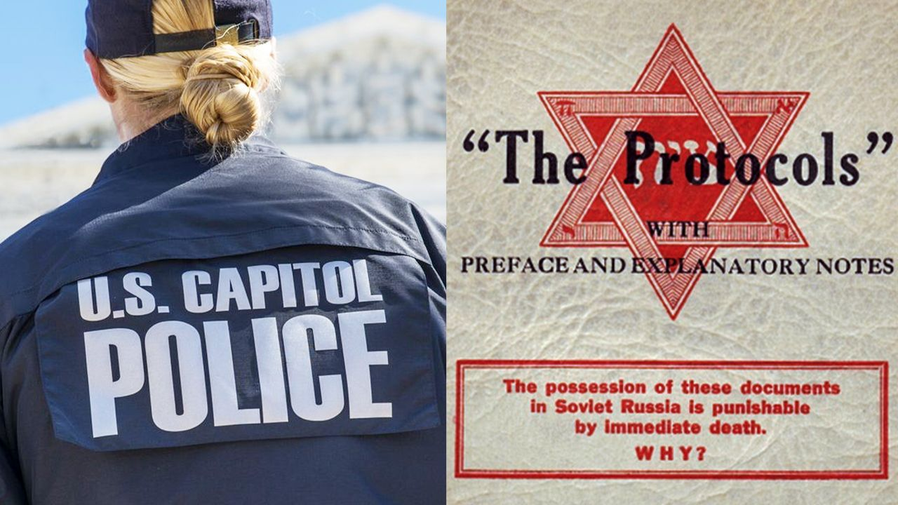 Capitol Police suspend officer after anti-Semitic book discovered at Capitol Hill security checkpoint
