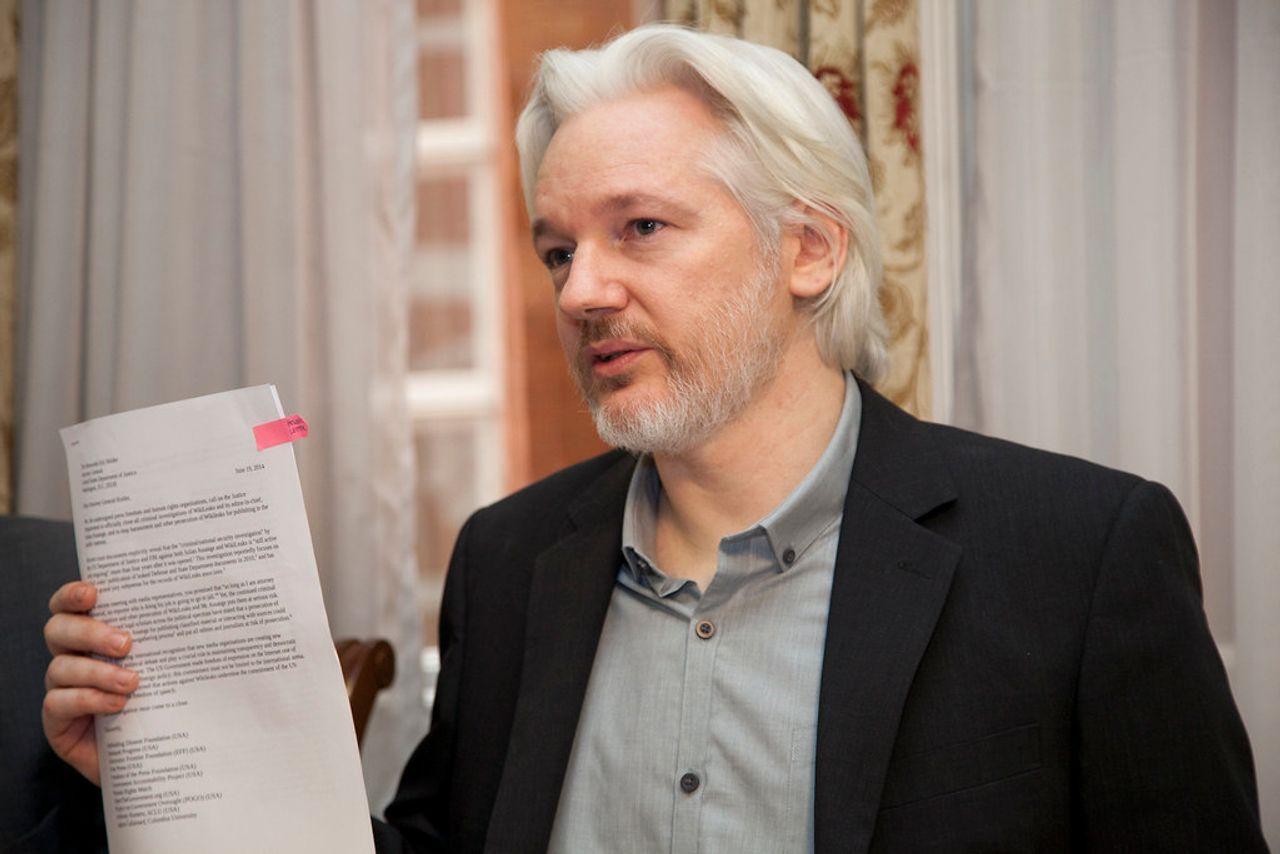 Numerique: Julian Assange, le fondateur de Wikileaks, inculpé aux Etats-Unis