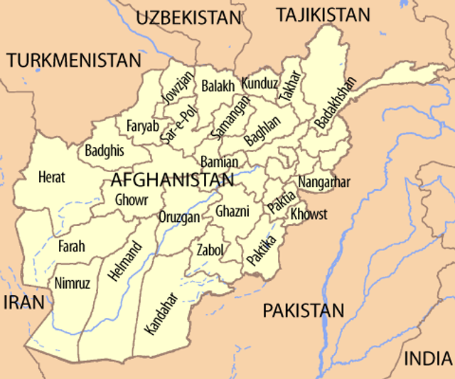 Major City In Afghanistan Falls To Taliban Attack World - Major cities of pakistan map