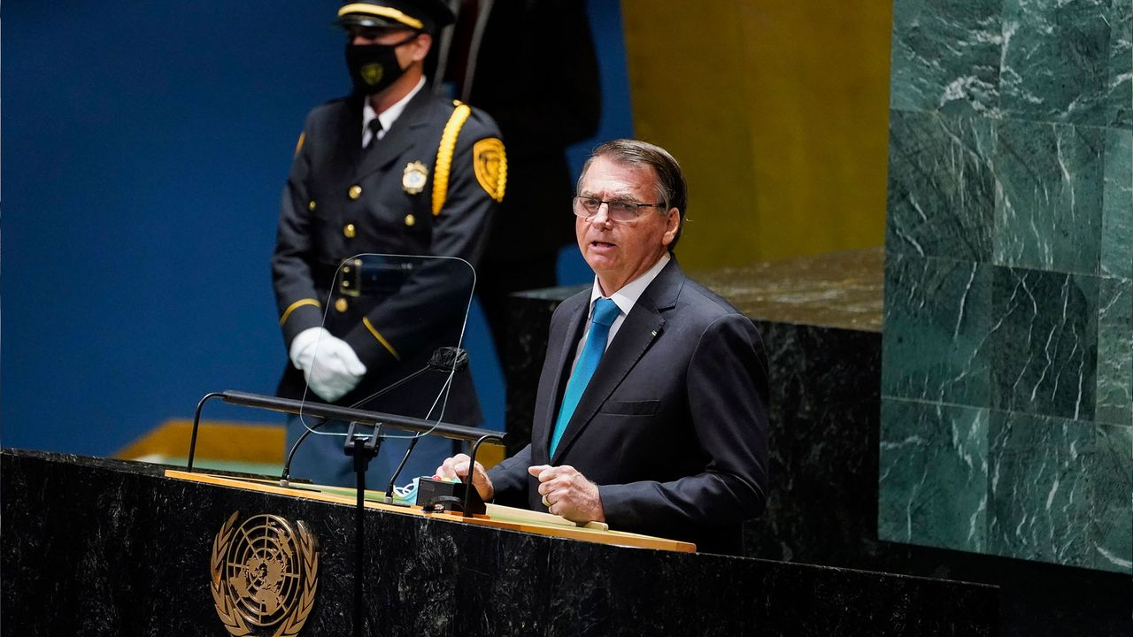 Brazil's Bolsonaro attacks socialism and COVID-19 lockdowns at UN