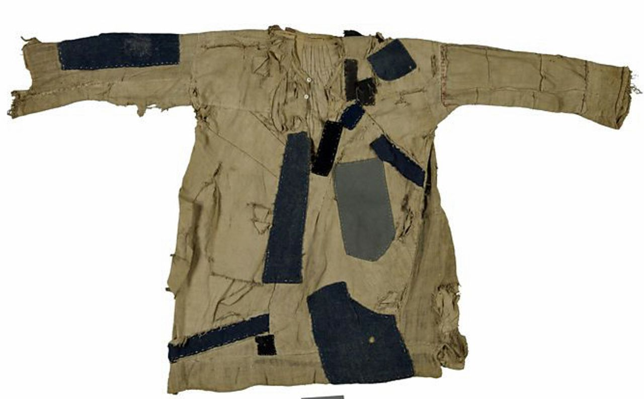 Sudanese tunic (muraqqa'a), 1880, courtesy of the British Museum