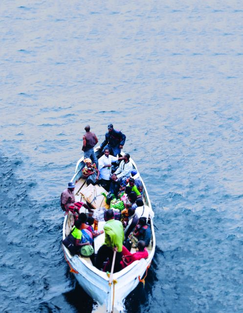 The Impact Of The Refugee Crisis Lampedusa By Anders Lustgarten At