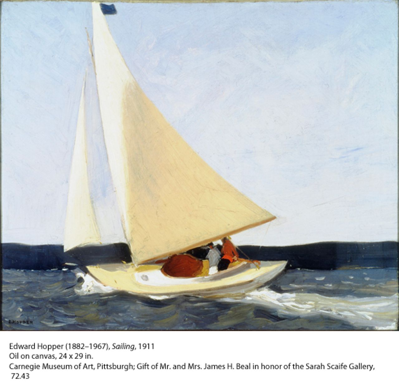 Hopper, Sailing