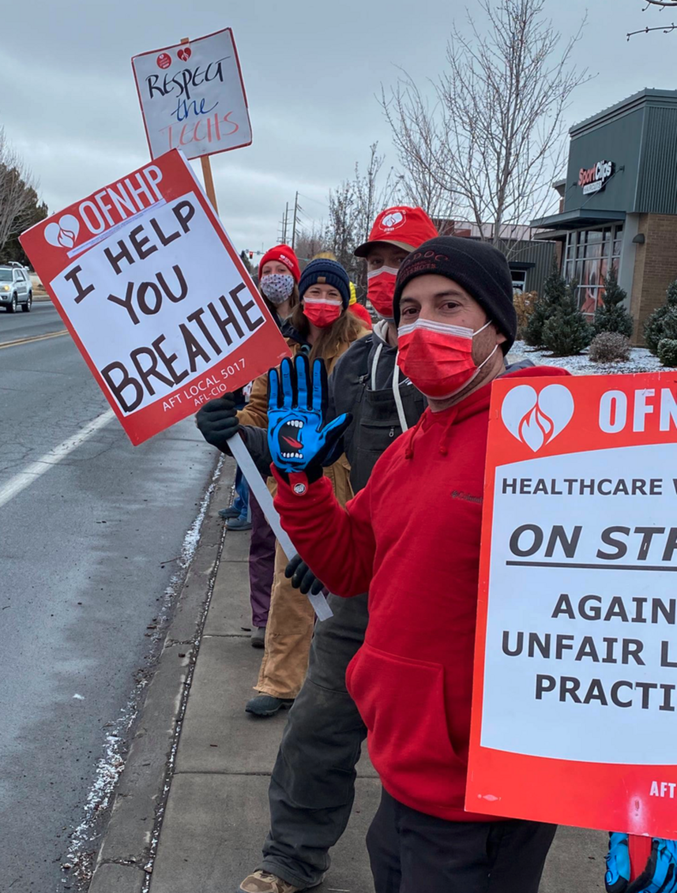 "As details of the sellout deal emerge, Oregon nurses union cynically claims ""historic"" victory in Bend medical technicians strike"