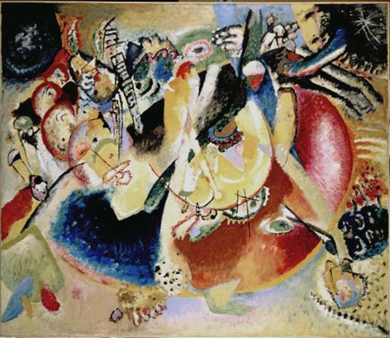Wassily Kandinsky, Improvisation of Cold Forms