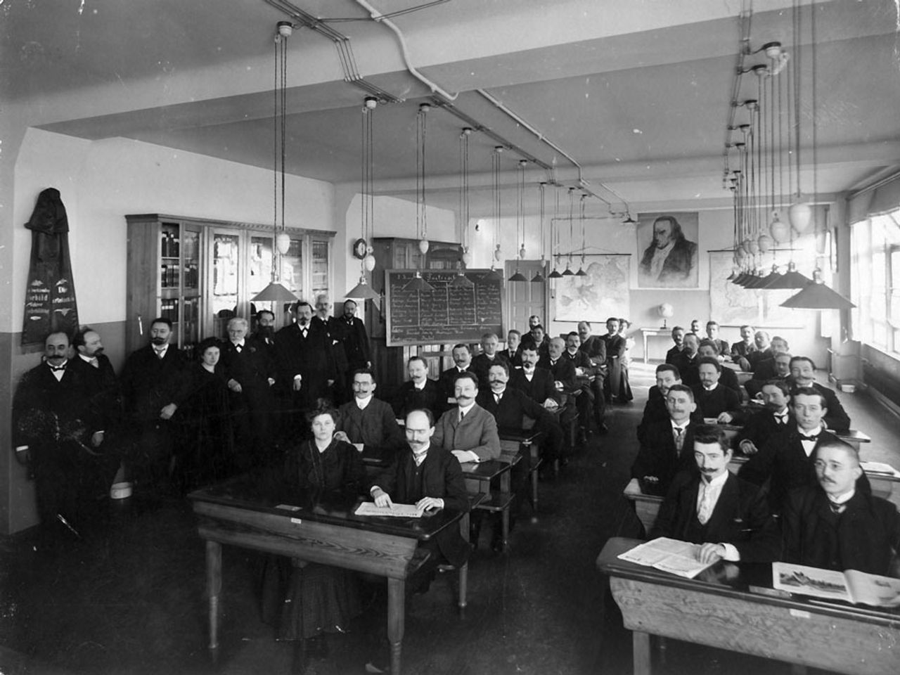 Party school of the SPD in 1907