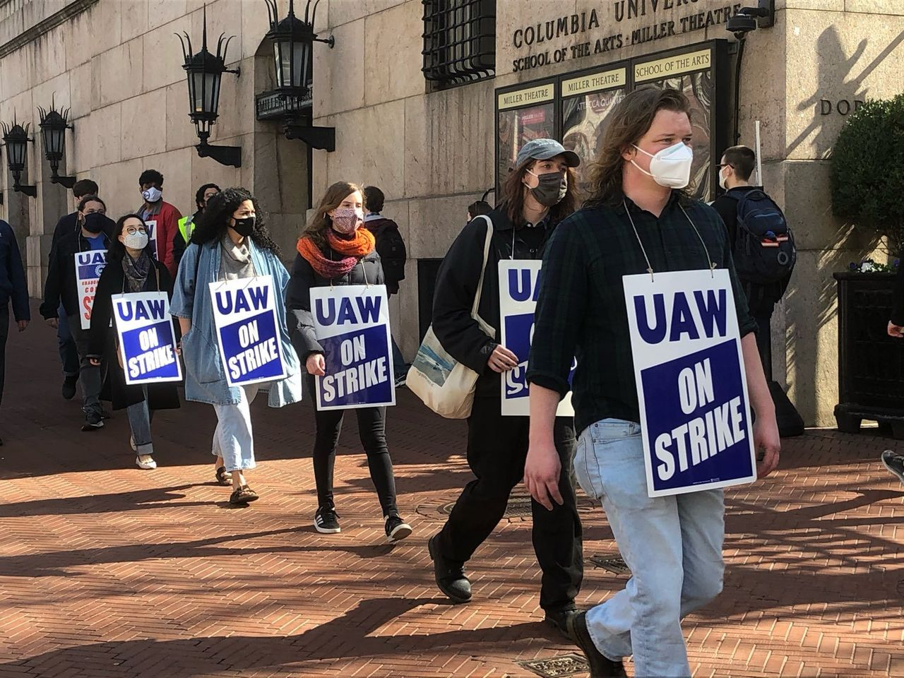 NYU strike authorization vote begins as graduate workers continue strike at Columbia University