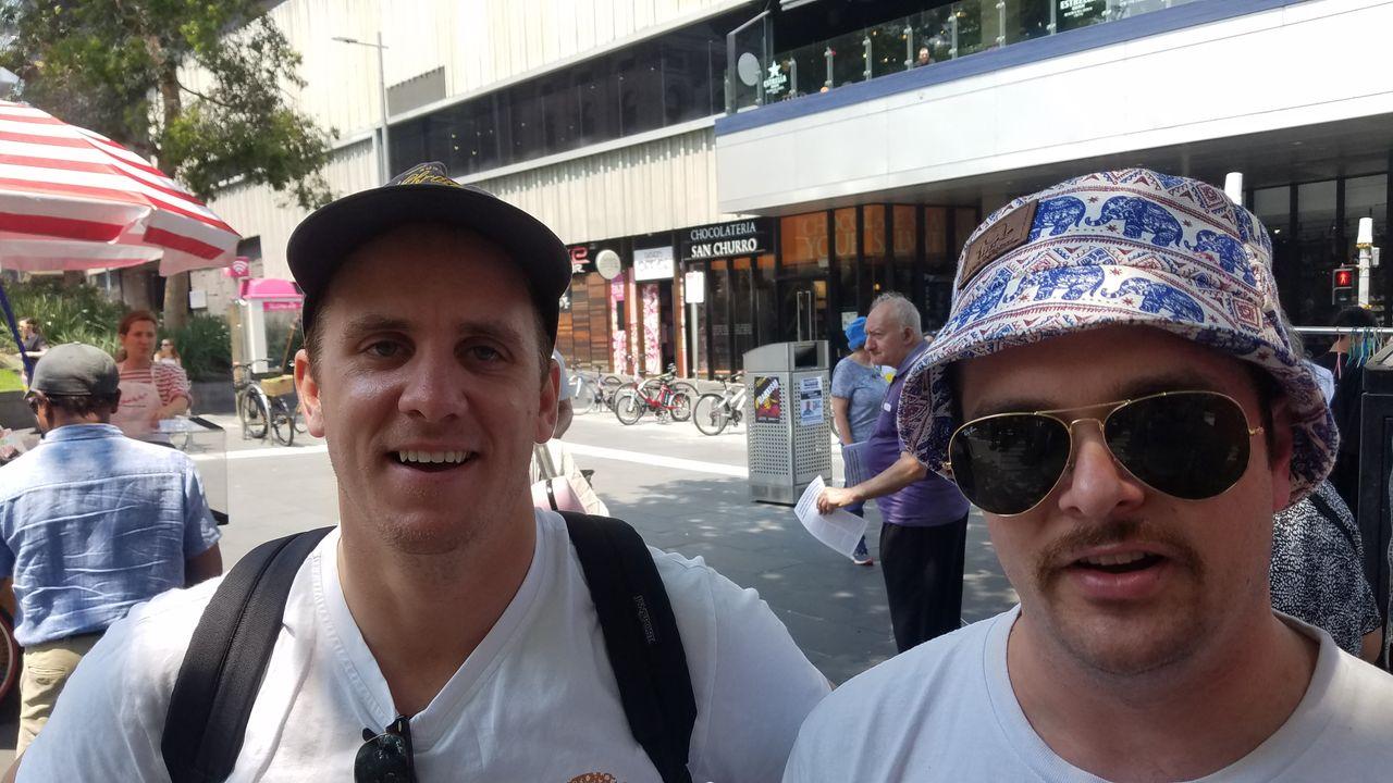 Marcus (right)