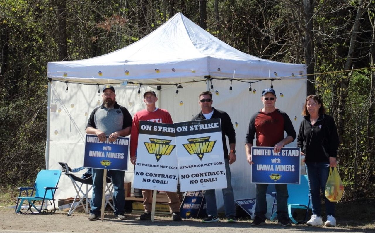 Warrior Met coal miners in Alabama defeat UMWA sellout, continue strike