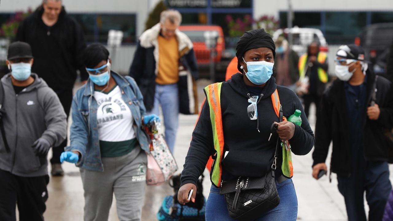 Michigan signals the outbreak of pandemic B.1.1.7 in the United States