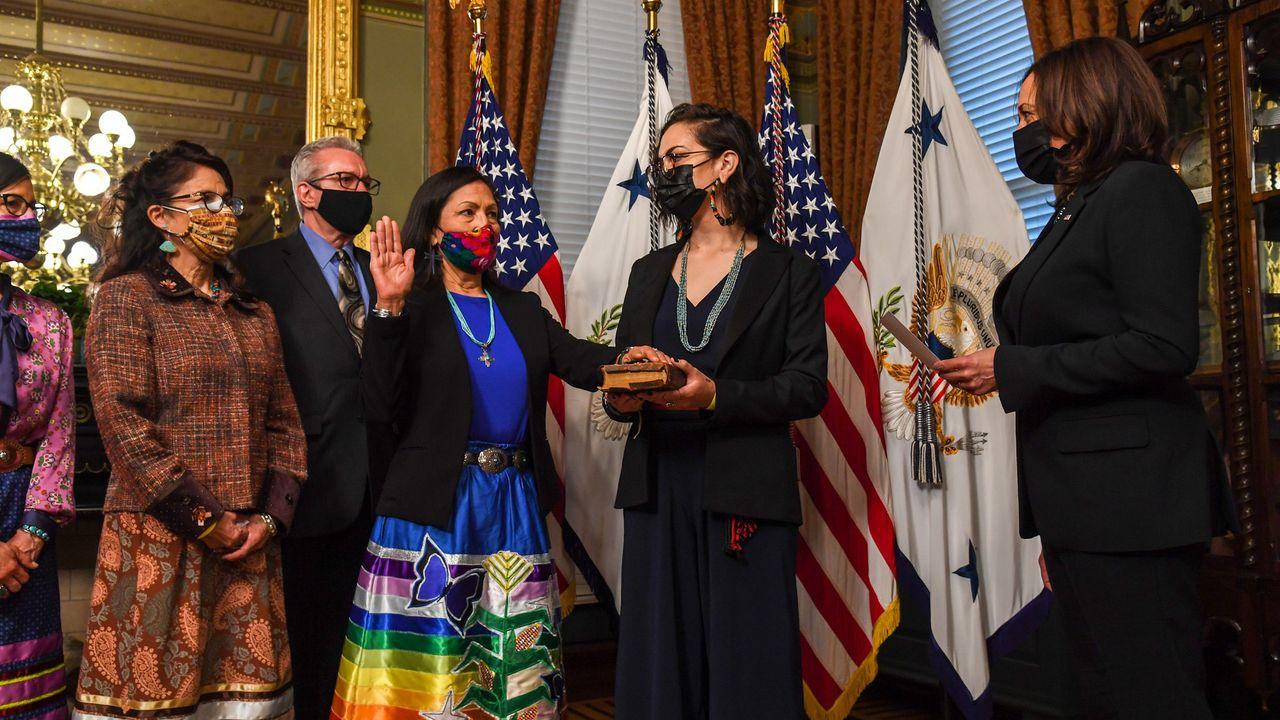 Interior Secretary Deb Haaland: The integration of the Native American elite with the Democratic Party