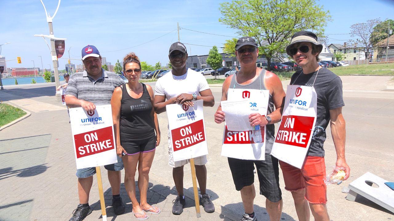 Windsor Casino Strike