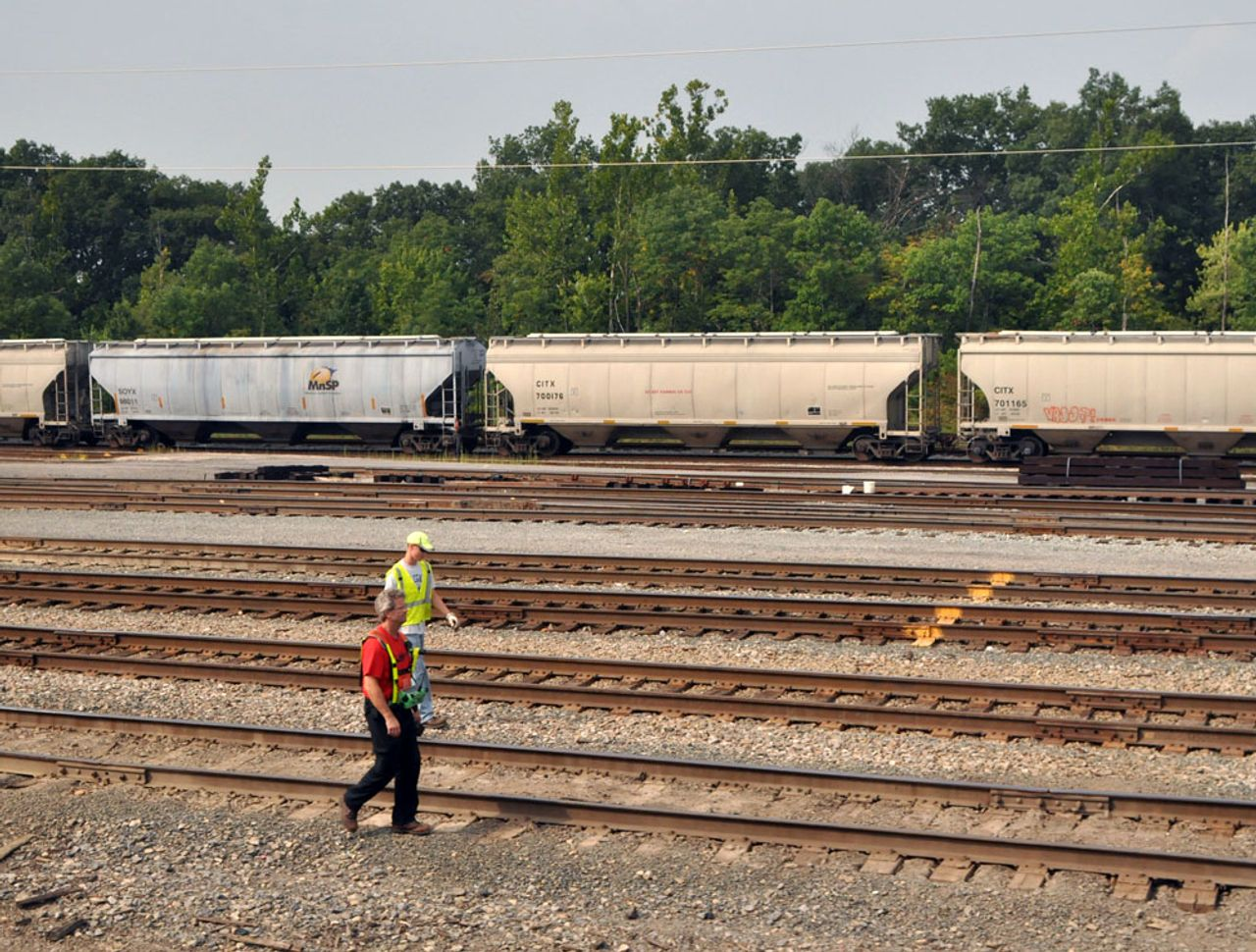CSX railroad closes and downgrades major facilities