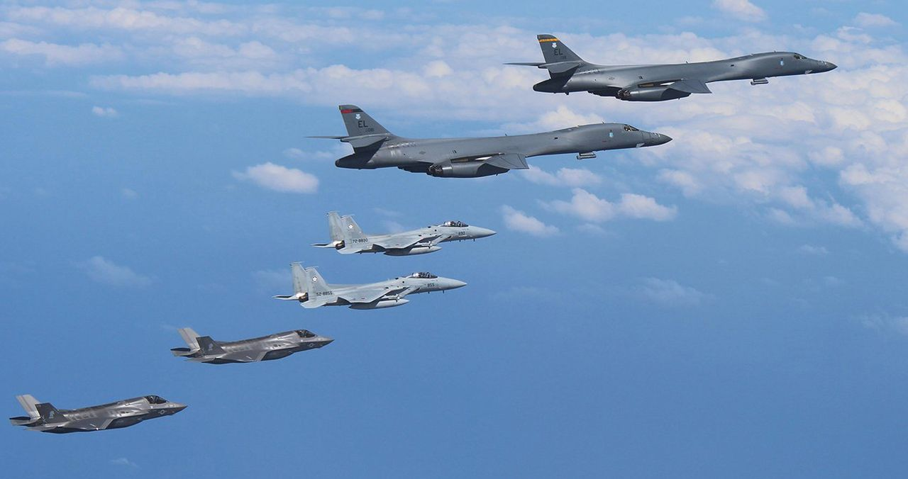US, South Korea begin biggest-ever combined air force exercise