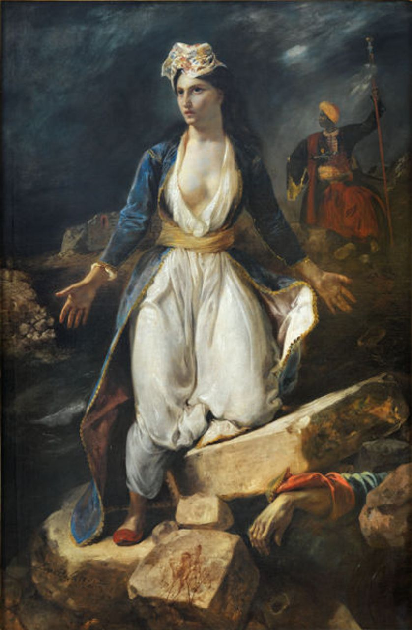 Greece on the Ruins of Missolonghi, 1826