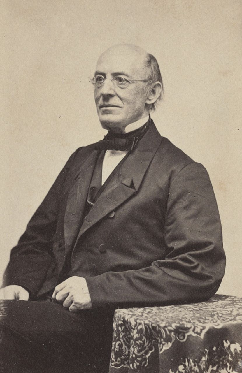 William Lloyd Garrison, c.1870