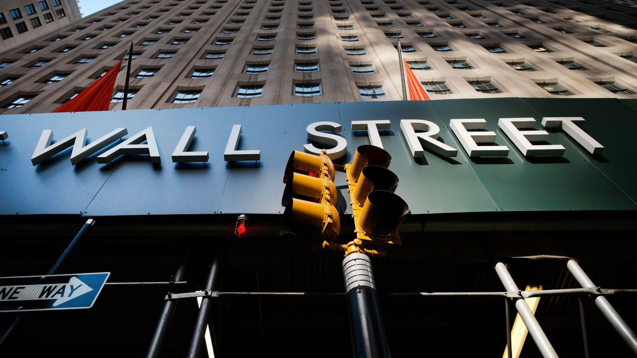 Nervous tremor on Wall Street