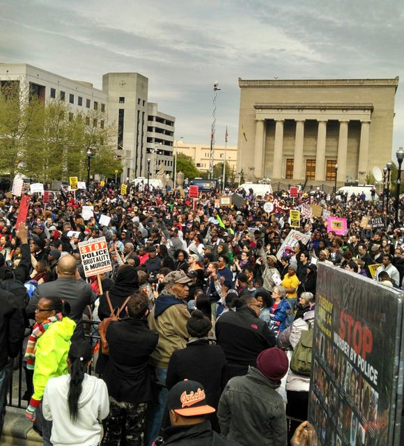 School Shooting Today In Baltimore: Democrats Step Up Repression Against Protests Over Police
