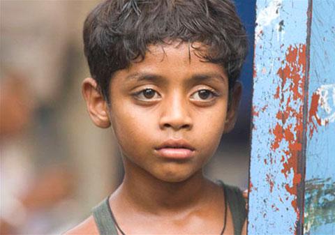 La maison d 39 un enfant acteur dans slumdog millionnaire for Maison d acteur